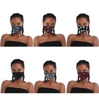 2020 Mujeres Bling Máscaras reutilizable lavable mujeres diamante del flash de la estrella del Rhinestone máscara máscaras partido del club nocturno de moda Boom2016