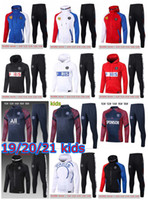 20 21 MBAPPE ICARDI hoodie jacket kit youth football training set Survetement 2020 2021 soccer tracksuit Hoodie for children