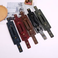 Fashion Johnny Depp Vintage unique individual leather bracel...