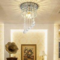 Moderne LED Crystal Kroonluchter Eenvoudige Crystal Plafondlamp Slaapkamer Hanglampen Woonkamer Hanglampen Exquisite Wholesale Lighting