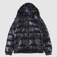 Mode hiver Fourrure Manteau Homme Jassen Manteaux à capuchon Fourrure Manteau Canada Down Jacket Coat RIGEL Top Qualité Hiver Doudoune