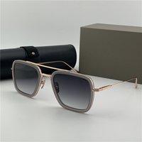 Дизайнерские оттенки Мужские солнцезащитные очки Sonnenbrille Costa Eye Frames Женские Винтажные Металлические Очки Золотая Рамка Очки 006