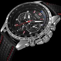 nouvelle armée d'affaires de conception de la marque megir de mode haut hommes hommes horloge mâle Décontractée cadeau sport quartz poignet de luxe 1010
