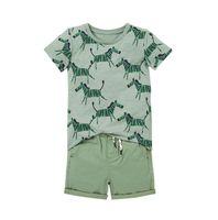 Baby Boy Designer Kleidung Kinder Sets 100% Baumwolle Sommer Jungen Set Kurzarm T-Shirt mit Cloak + Denim Kurze Kinder Kleidung Sets