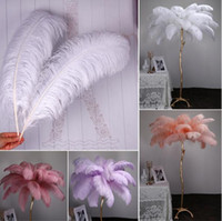2021 Marabou Feathers For DIY Bridal Wedding Crafts Millinery Card Decorate Wedding Ostrich Feathers Wedding Decoration Supplies