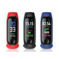 M3 montre Smart Watch Bracelet SLEEPTRACKER pas à pas de fréquence cardiaque Tracker exercice Santé Pression artérielle m3 Sport Bandeaux bande pour tous les
