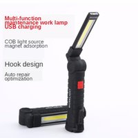 COB LED القابلة لإعادة الشحن المغناطيسي الشعلة مرنة التفتيش مصباح اللاسلكي Worklight إضاءة محمولة LED أضواء