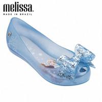 Mini Melissa Mel Ultragirl + Snow Princesse Infantil Big Girls Jelly Chaussures Sandales 2020 Chaussures Sandales Melissa Moyenne Enfants 4H6C #