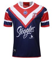 Yeni 2018 2019 2020 Sydney Roosters Rugby Formalar NRL Rugby Ligi Formalar 19 20 Gömlek Boyutu S-3XL Erkek
