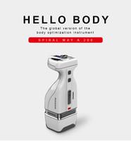 أحدث البسيطة HIFU RF التخسيس الجسم إزالة الدهون في البطن مساج 2IN1 هاندي HelloBody فقدان الوزن آلة التخسيس