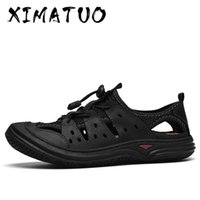 New Summer Men' s Sandals Genuine Leather Casual Shoes M...