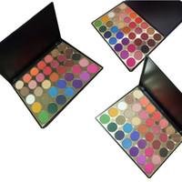 35 cor dos olhos sombra paleta profissional da sombra de olho multicolorido perolado make-up combinação sombra rápida compõem