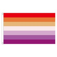 frete grátis flag Aerlxemrbrae Orgulho Lésbico bandeira do arco-íris Para Decoração