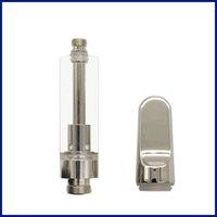 Glas flache Spitze Vape Patronen vape Tank für Schlagring vape Stift Zerstäuber individuelle Verpackung Docht Vaporizer