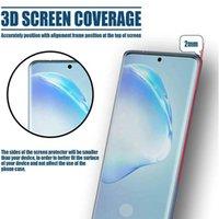 عالية الجودة حامي الشاشة الزجاج المقسى لسامسونج ملاحظة 10 9 8 S10 S9 S8 برو 2.5d 9h 0.3 ملليمتر غطاء كامل صدمات HD