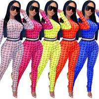 Kobiety Sexy siatki kombinezony Sheer Print Onesie Skinny Pajacyki Z Długim Rękawem Body Moda Clubwear Lato Odzież Slim One Piece Spodnie 3544