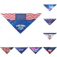 2020 amerikanische Wahlen Cat Schals Trump Pet Dreieckstuch Waschbare Durable Good Looking Biden Haustiere Supplies Compact 7bma E2