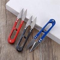 Новый смешанный цвет U-образные Машинки для шитья Обрезки Ножницы Щипцы вышивка Thrum Ножницы DH0012