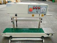 Fast máquina de sellado automático continuo de la máquina de sellado de la película bolsa de plástico máquina de envasado de alimentos inflado con la impresión Fecha