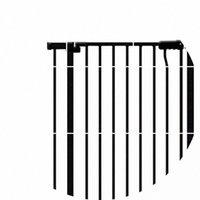 Wholesale- 2017 Verkauf Heißen Verkaufs-Eisen-Massivgasherd Knopf-Türanschlag Baby-Tor-Baby-Sicherheits-Tor Treppen Extend Pannel 14cm 7cm und 32cm 45c WHVO #