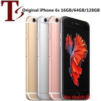 Recuperado iPhone original 6S da Apple 4,7 polegadas Sem toque id IOS A9 16/32/64 / 128GB ROM 12MP Desbloqueado 4G LTE telefone