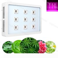 Full Spectrum Led Grow Lights 2700W X9 COB Aluminium Double Switch For Plant Indoor Outdoor Hydroponic Greenhouse Lighting DHL