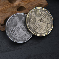 Ja oder Nein Kopie Münze Gedenkvorhersage-Entscheidung, Herausforderung Herausforderung Vintage-Schädelhandwerk Reise-Souvenir-Kunst-Sammlung Metallgeschenk
