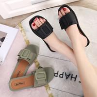 Pantoufles Whoholl Brand Couleurs mixtes Femmes Slipper Pllus Taille 35-41 Summer Beach Diapositives Flip Flop Flop