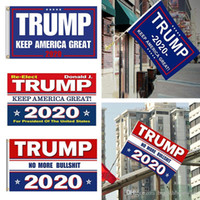 US Stockh! 10 Färger Decor Banner Trump Flagga Hängande 90 * 150cm Trump Förvaras Amerika Great Banners Digital Print Donald Trump 2020 Flag FY6061