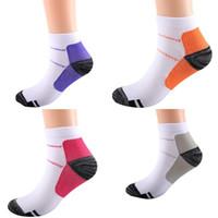 FXT compressione media Calzini assorbimento del sudore elastico Socke fascite plantare del tallone Irritazione Dolore Calze Uomo Donna Usa Resist Fatig 2 8ys B2