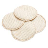 4pcs / väska Mamma vårdkudde Tvättbara bröstkuddar Spill Förebyggande amning
