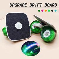 Skateboard-Drift-Board-Freizügige Roller Skateboard mit blinkenden Rädern Erwachsene tragbare Anti-Skid-Driftboard-Bürste Straße Straßensport