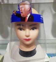 Trump Trasparente Visiera riutilizzabile spugna Visiera Maschera Occhi Protect Anti-Fog layer da maschere Olio Viso Splash Visor Trump GGA3582-5