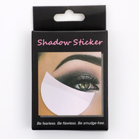 50 шт / коробка тени для век Shields колодки под глазами заплаты Одноразовая состава тени глаза протектор наклейки JK2007KD