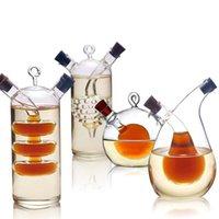 High Temperature Spice garrafa de azeite e vinagre Galss Garrafa Sauce frasco de vidro selado condimento garrafas de vidro de vinho de armazenamento para Bar