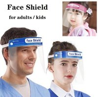 Adults & Kids Face Shield Transparent PET Anti- fog Face Shie...