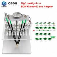 BDM Rahmen Aluminium BDM TableMetal Full Set Adapter Probe ECU Programmierer KTAG KESS V2-Master 100 FGTECH V54 RC33 #