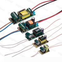 Transformateurs d'éclairage 300mA 110 220 V 240 V IP20 1-3W 4-7W 8-12W 13-18W 18-24W Pour Downlight Ampoule projecteur intégré Conducteur PCB EUB