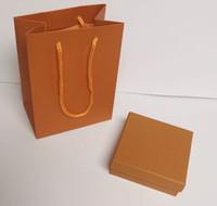 럭셔리 디자이너 보석 상자 팔찌 종이 먼지 가방면 여자 목걸이 상자 선물 상자 모든 쥬얼리에 대 한 포장 가방