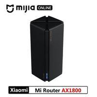 10pcs DHL XIAOMI ROUTER AX1800 Qualcomm 5 Core WIFI6 2,4G 5,0 GHz Gigabit Full Gigabit 5G à double fréquence Murale pénétrant roi cn version