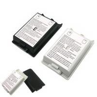 Siyah beyaz Pil Kılıf Kapak Shell Xbox 360 / xbox360 Kablosuz Kumanda şarj edilebilir batarya