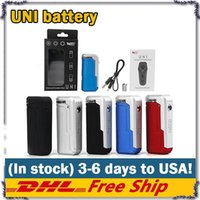 Uni Box Mod bateria 650mAh Tensão ajustável e Pré-aqueça o Battery para o diâmetro 6-12mm Grosso Cartucho de óleo 0266285