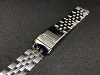 22 de 24 mm de plata en dos tonos de acero inoxidable reloj de la correa de reloj de oro reloj de la correa de la correa de banda