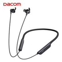 DACOM L54 Active Bruit Collecteur Bluetooth Écouteurs Bluetooth Sport Bass Casque d'oreille sans fil avec mains libres pour téléphone mobile