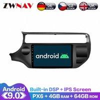 Android 9.0 schermo IPS PX6 DSP per KIA RIO 2015 2016 2017 2018 Car No DVD unità GPS lettore multimediale Capo Radio Audio Car Stereo Dvd B 0Jgx #