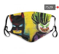 Superhero Mask Movie Washable adjustable reusable 2psc carbo...