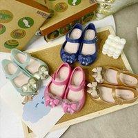 Mini Melissa Yaz Sevimli Kalp Kız Sandalet Kız Jöle Ayakkabı Plaj Sandalet 2020 Bebek Ayakkabıları Melissa Çocuklar Prenses U1ga #