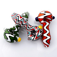2020 Color Glass Spoon Pipe 4inch High Quality US Color Glas...