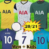 2020 2021 KANE Ndombele LO CELSO maillots de football 20 21 SON DELE Bergwijn New Spurs Futbol Camisa football Camisetas shirt Kit Maillot Tops