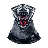 Naadloze Magic Bandana Outdoor Sports Riding Masker Multifunctionele Hoofddeksels Hoofdband Neckwarmer Magic Sjaal Horror Party Masks GGA3570-8